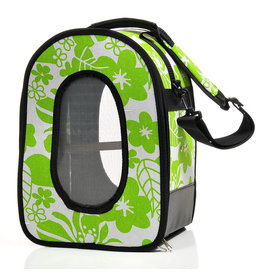 """Soft Sided Travel Carrier - SMALL GREEN 14.5"""" x 10.5"""" x 7"""" -"""