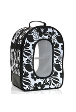 "Soft Sided Travel Carrier - LARGE BLACK 18.5"" x 13.5"" x 9"""