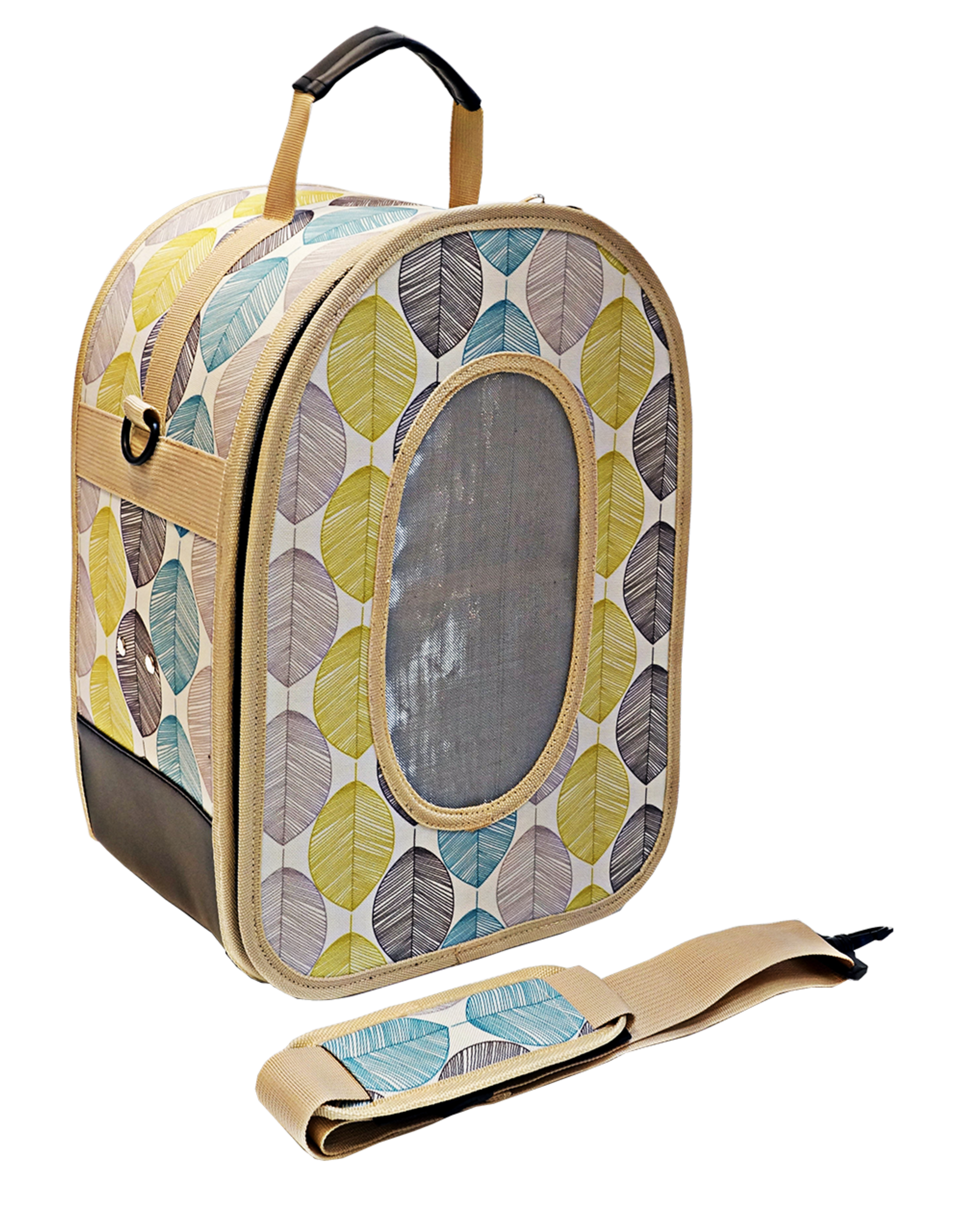 """Soft Sided Travel Carrier - LARGE LEAF 18.5"""" x 13.5"""" x 9"""""""
