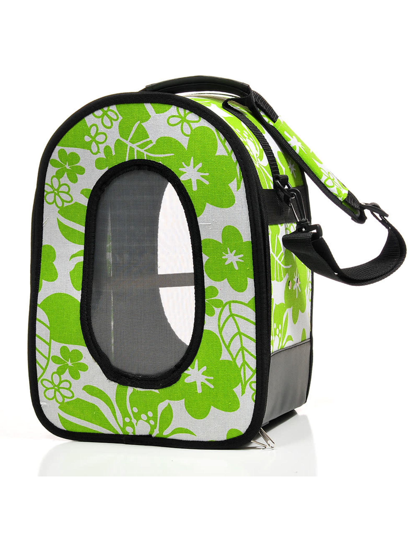 """Soft Sided Travel Carrier - LARGE GREEN 18.5"""" x 13.5"""" x 9"""""""