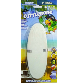 A&E CAGE COMPANY CUTTLEBONE NATURAL 5IN SGL