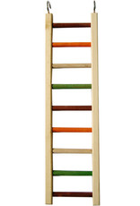 "A & E CAGE CO. Wooden Hanging Ladder, 20"" x 5.25"", 1/2"" Diameter"