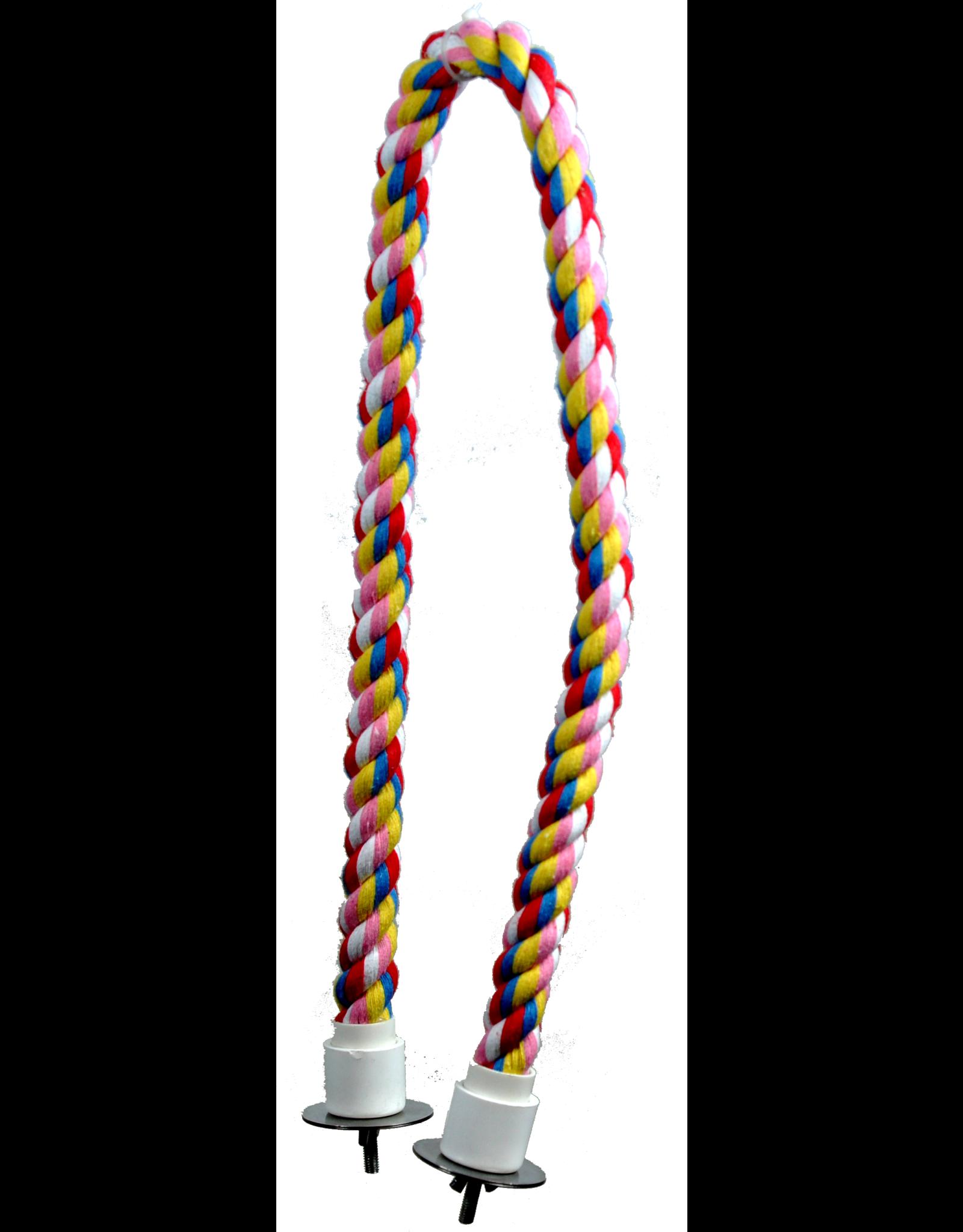"""A & E CAGE CO. Cotton Cable Perch 32"""" x 0.75"""