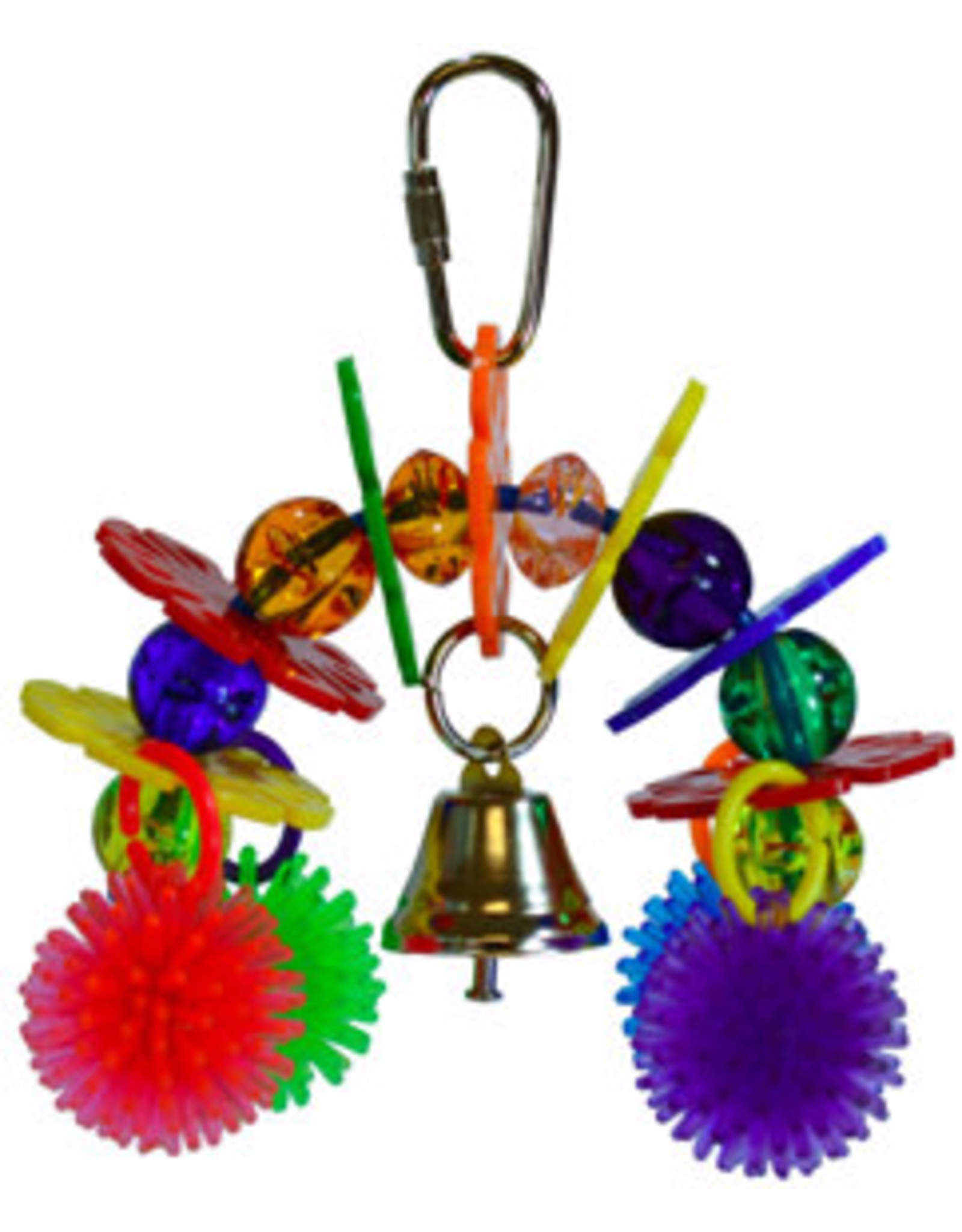 A&E CAGE CO Rainbow Bridge Bird Toy