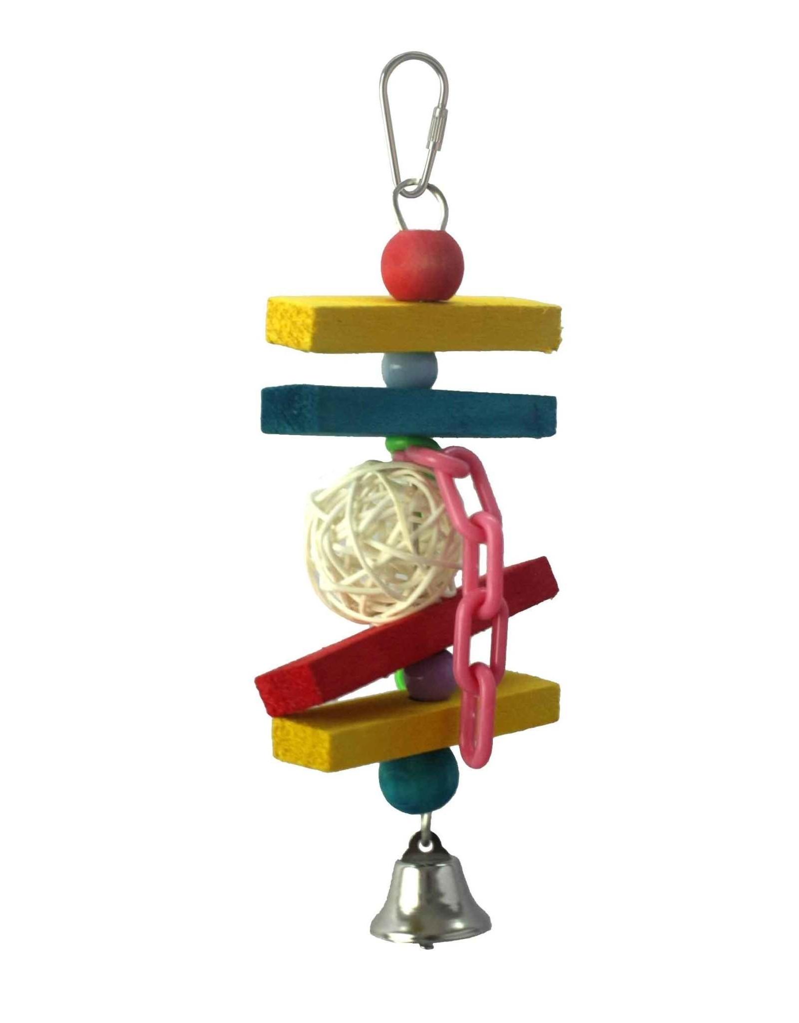 A & E CAGE CO. Mini Balsa Munch Toy