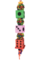A&E CAGE COMPANY TUMBLING DICE BIRD TOY