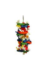 A & E CAGE CO. The Medium Cluster Blocks Bird Toy