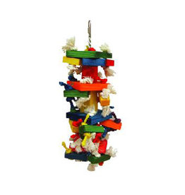 A & E CAGE CO. The Medium Cluster Blocks Bird Toy