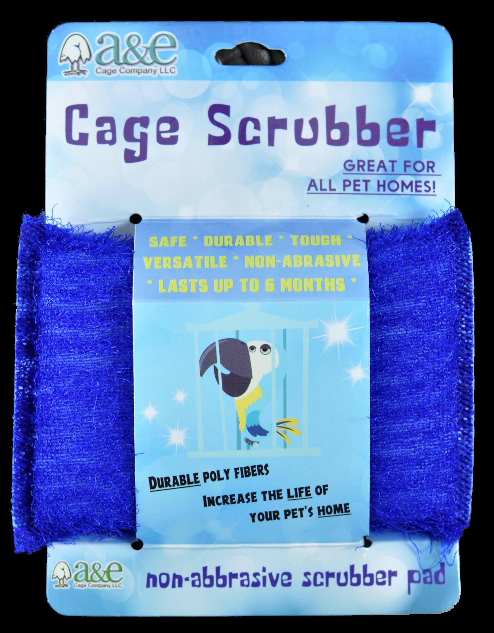 A & E CAGE CO. Cage Scrubber