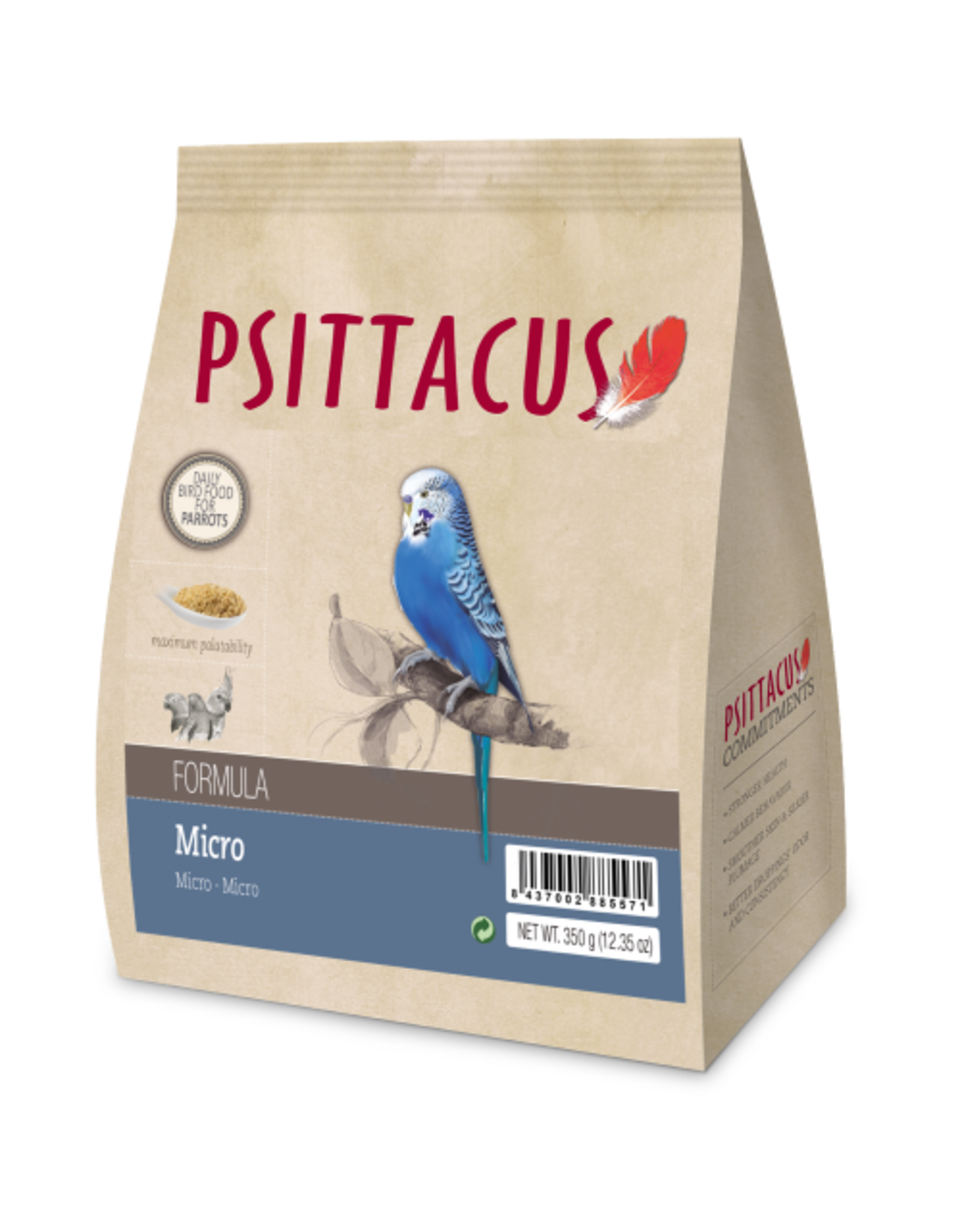 Psittacus maintenance micro formula
