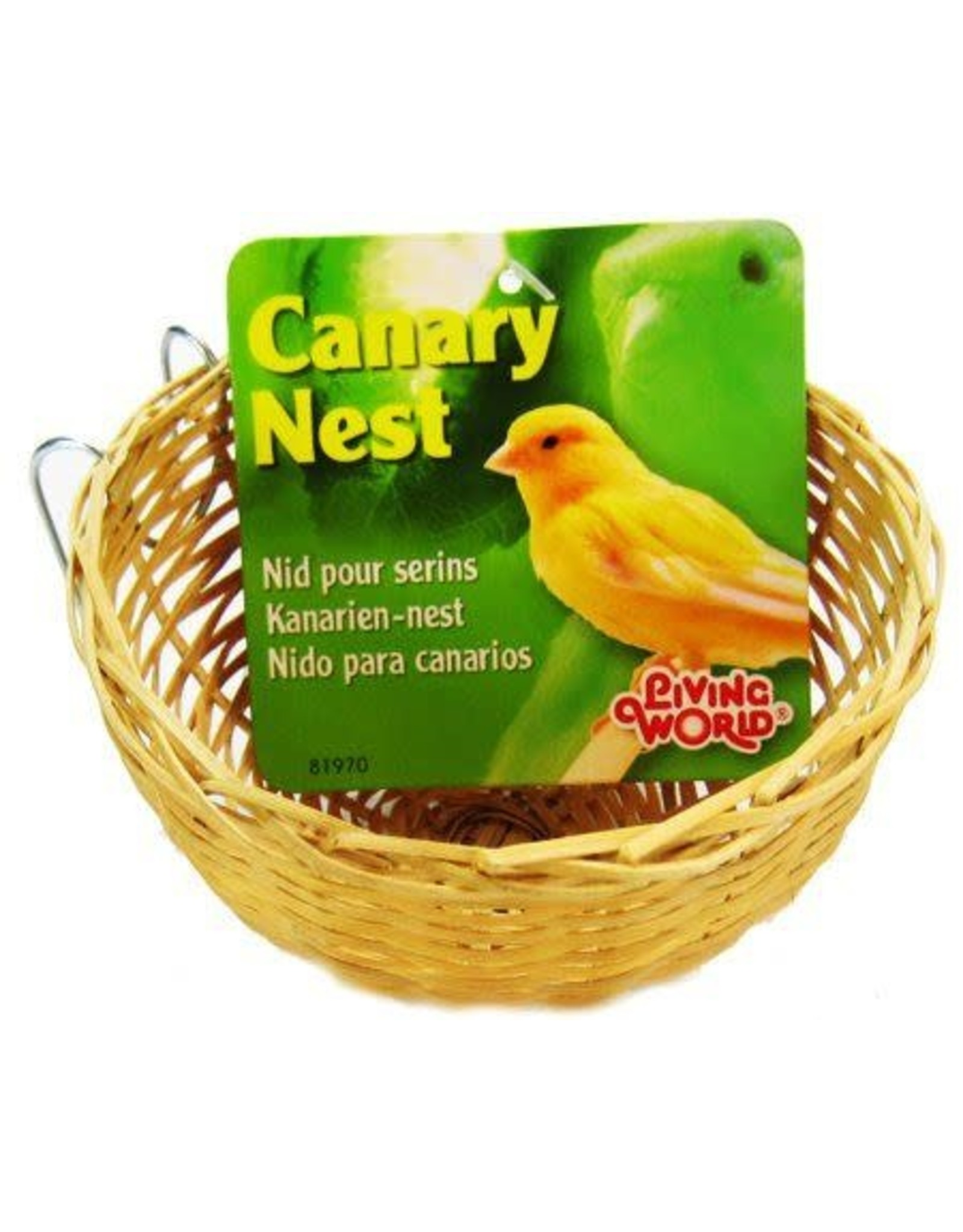 Living World Bamboo Canary Nest