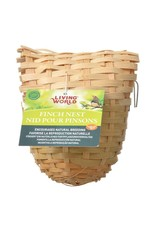 Living World Bamboo Finch Nest, Small