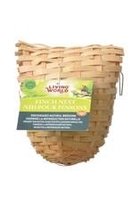 Living World Bamboo Finch Nest, Large