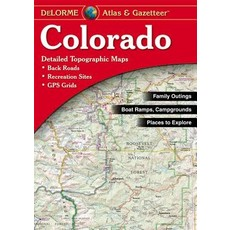 Delorme Colorado Atlas and Gazetteer