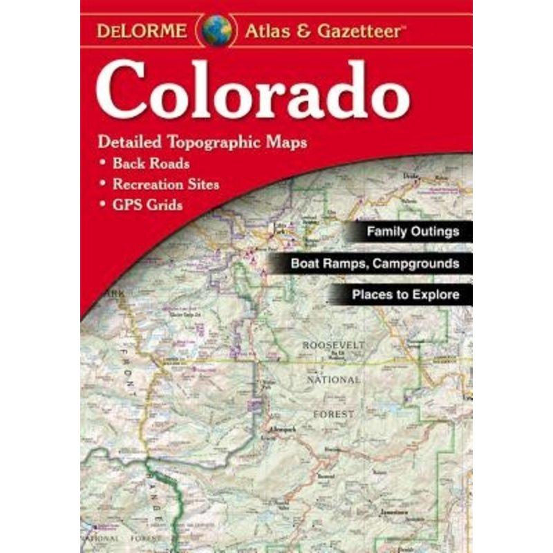 Delorme Colorado Atlas and Gazetteer