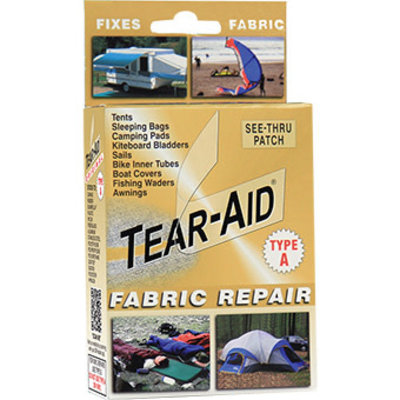 TEAR-AID Tear-Aid Type A Fabric Repair Patch Kit