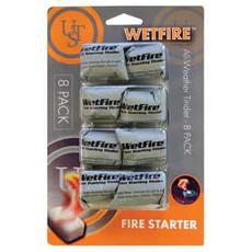 ULTIMATE SURVIVAL Wetfire Tinder - 8 Pack