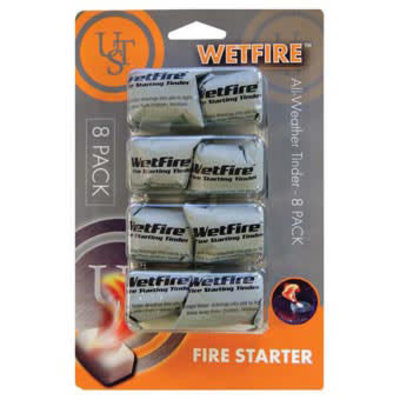 ULTIMATE SURVIVAL Wetfire Tinder - 8 Pack