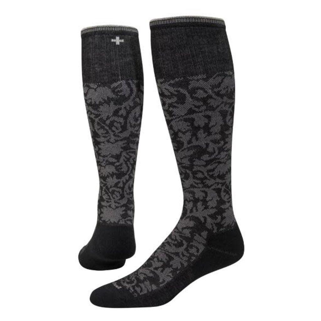 Damask Compression Socks - Women's