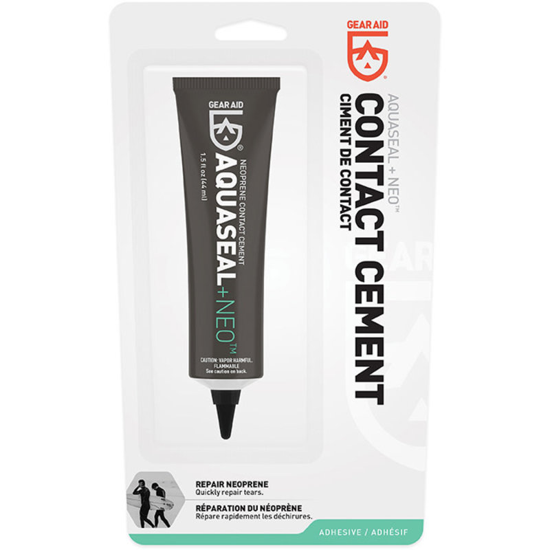 Gear Aid Aquaseal + NEO- Neoprene Contact Cement 1.5oz