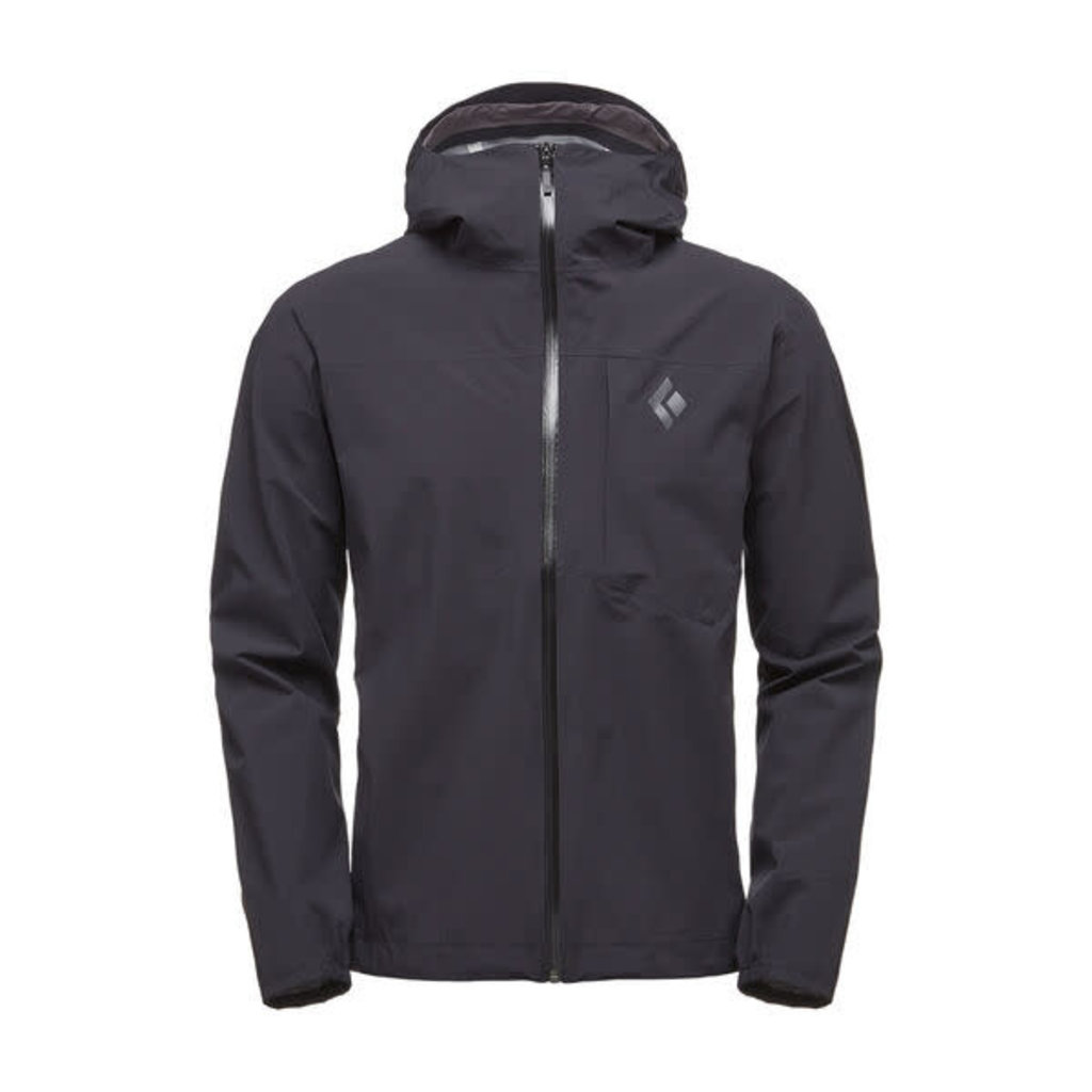 Black Diamond Fineline Stretch Rain Shell - Men's
