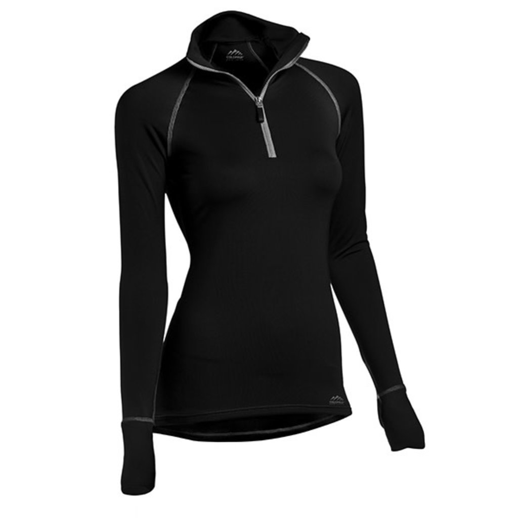 ColdPruf Base Layer Quest Performance Women's Mock Zip