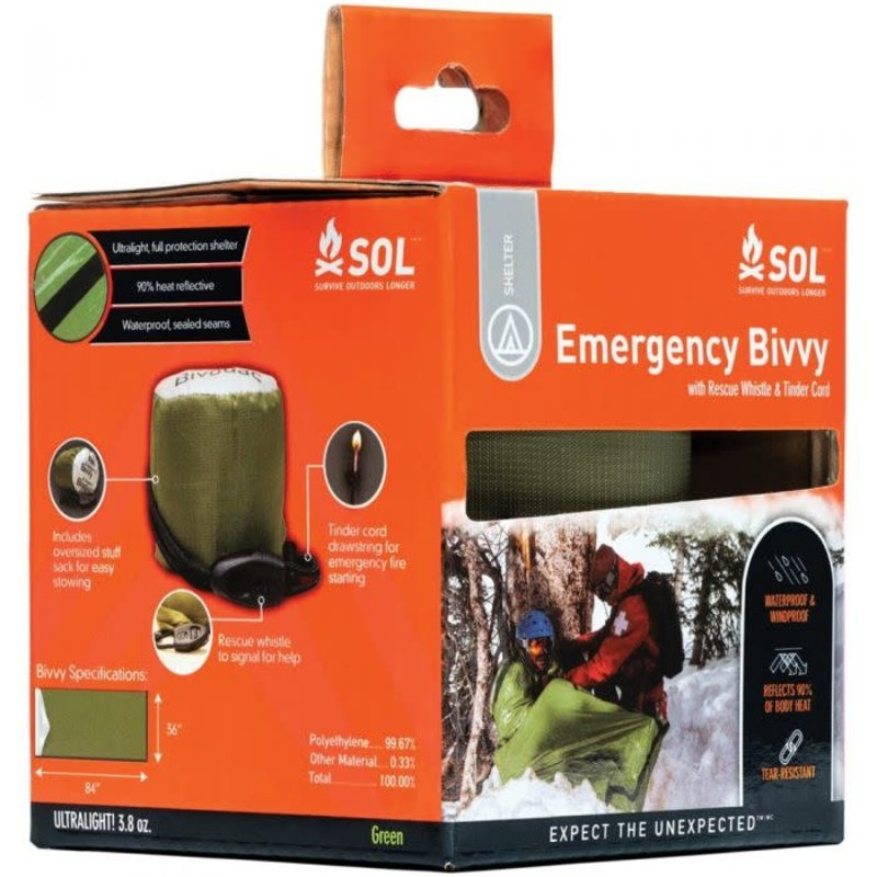 SOL SOL Emergency Bivvy OD Green