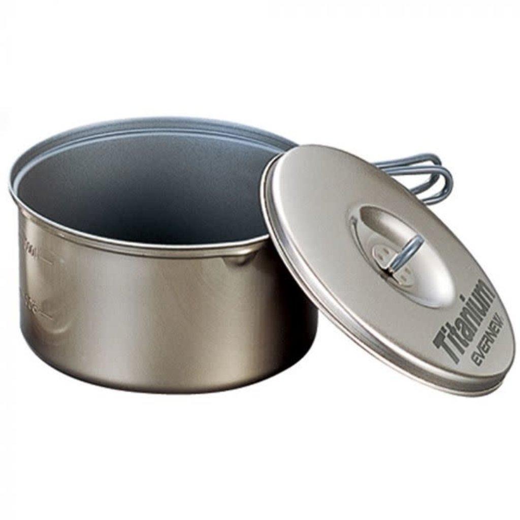 EVERNEW Titanium Cookware 1.3 Liter - Non-stick
