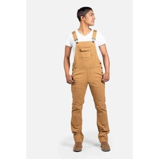 Dovetail Freshley Overall in Brown Canvas
