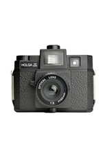 Holga Medium Format Film Camera with Built-in Flash and Glass Lens