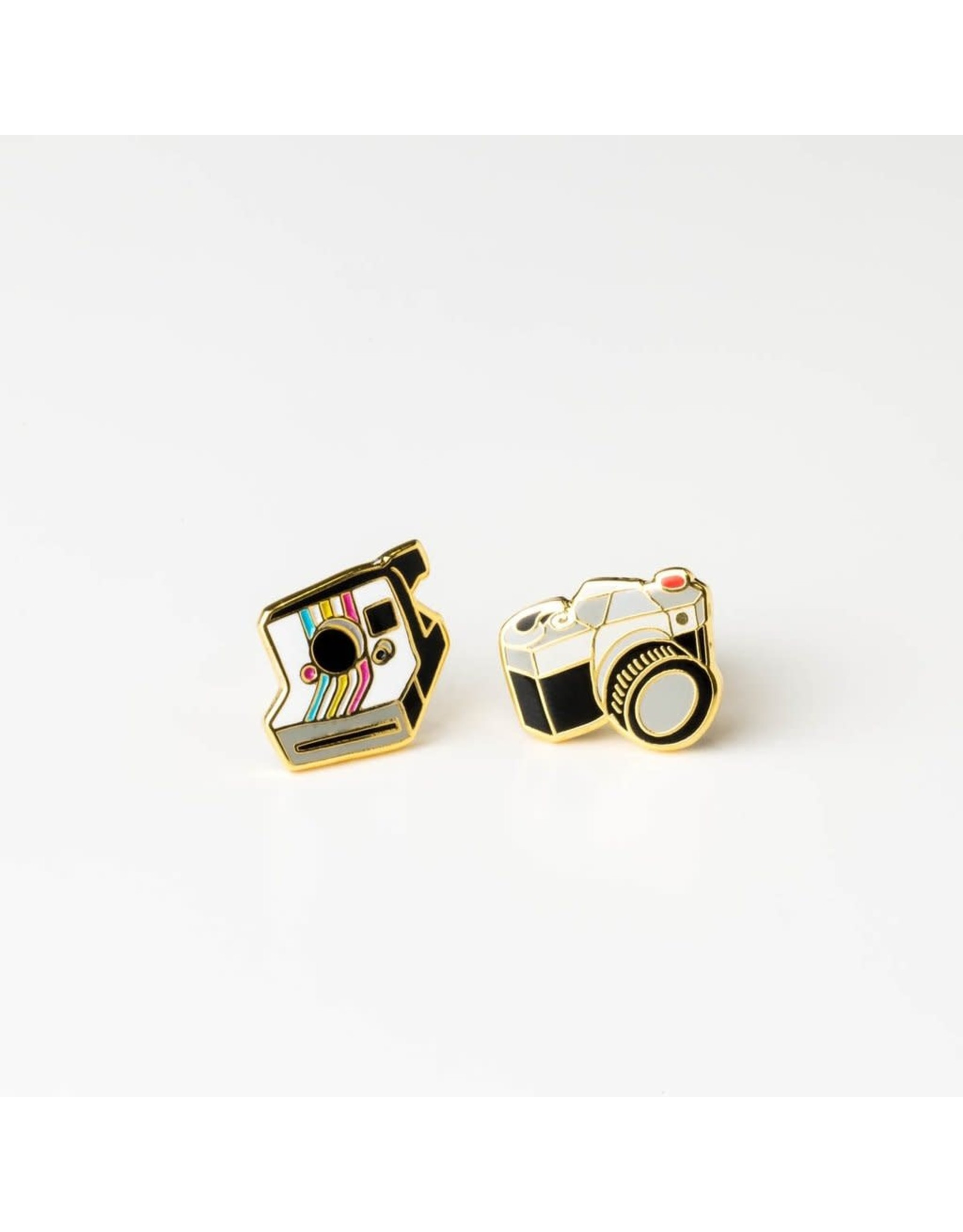 Polariod and SLR Camera Earrings