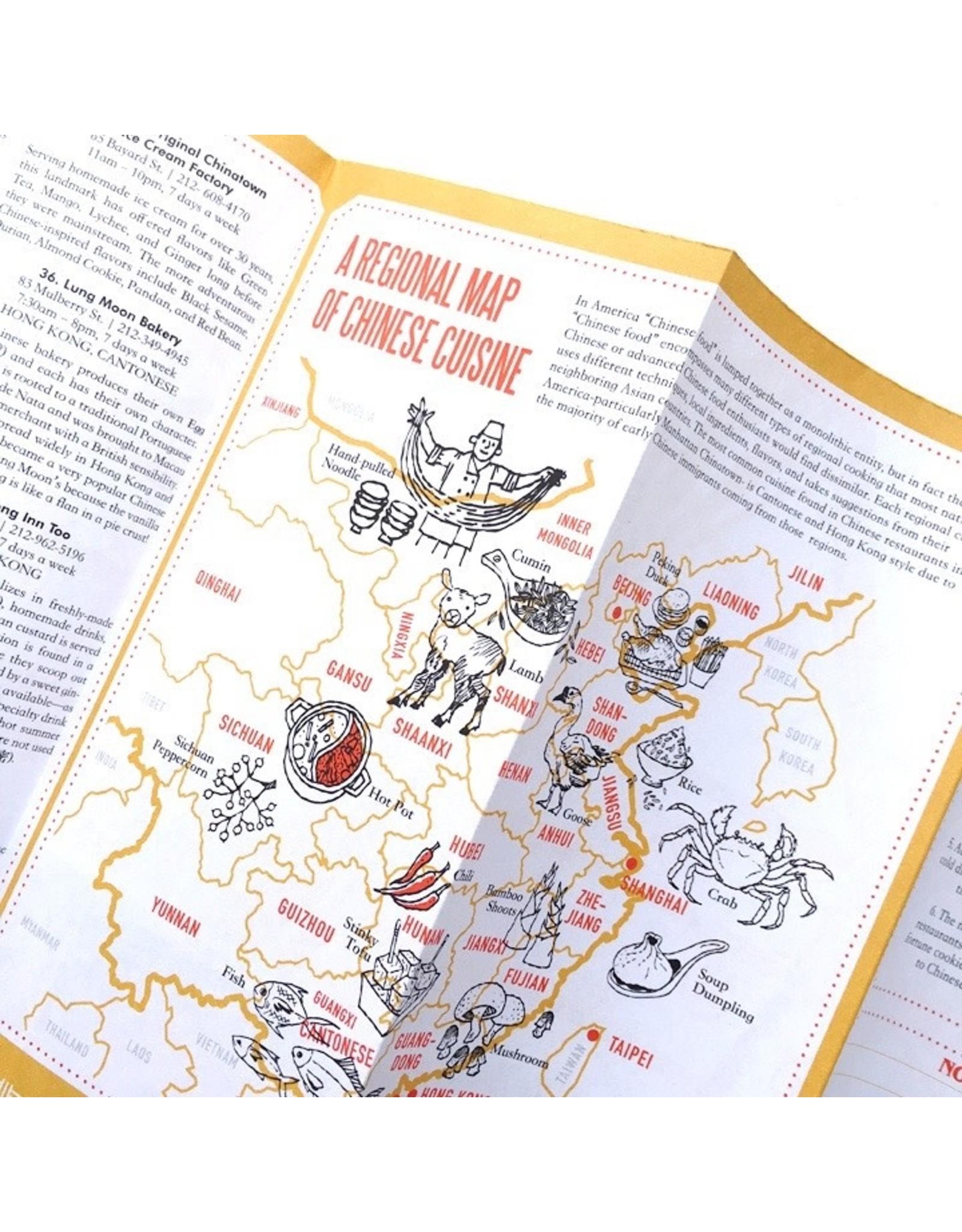 Manhattan Chinatown Map