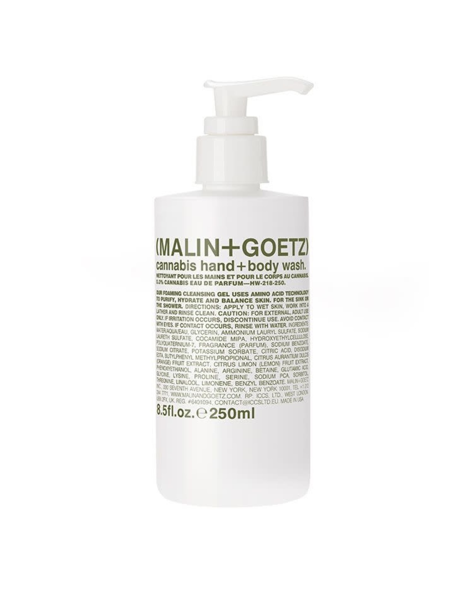 Cannabis Hand and Body Wash by MALIN+GOETZ