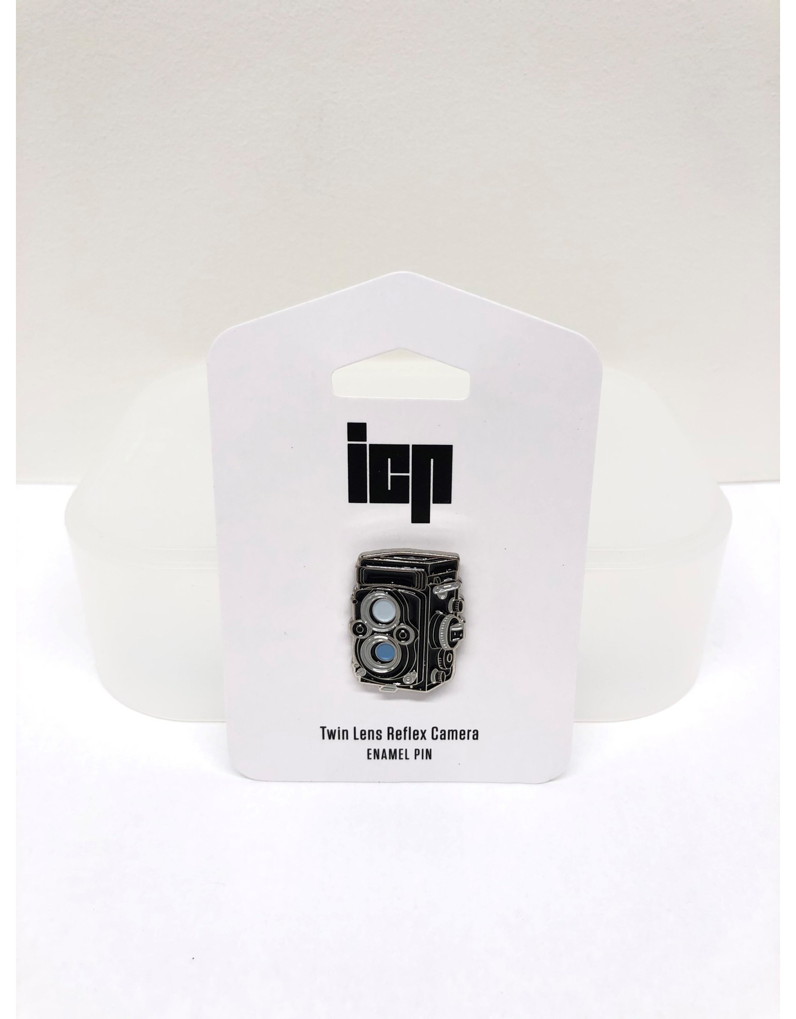 Twin Lens Reflex Camera Lapel Pin