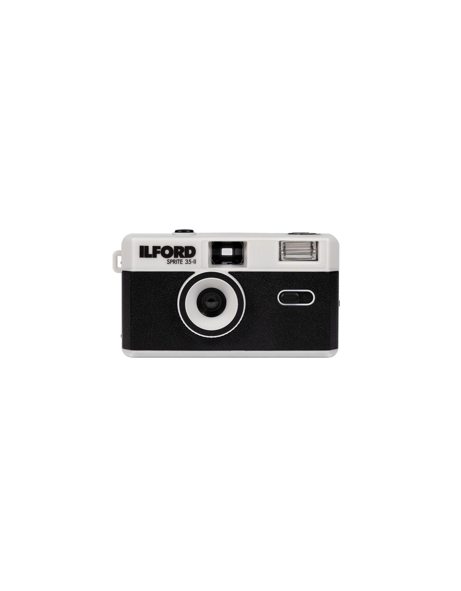 ILFORD Sprite 35-II Camera (Black & Silver)