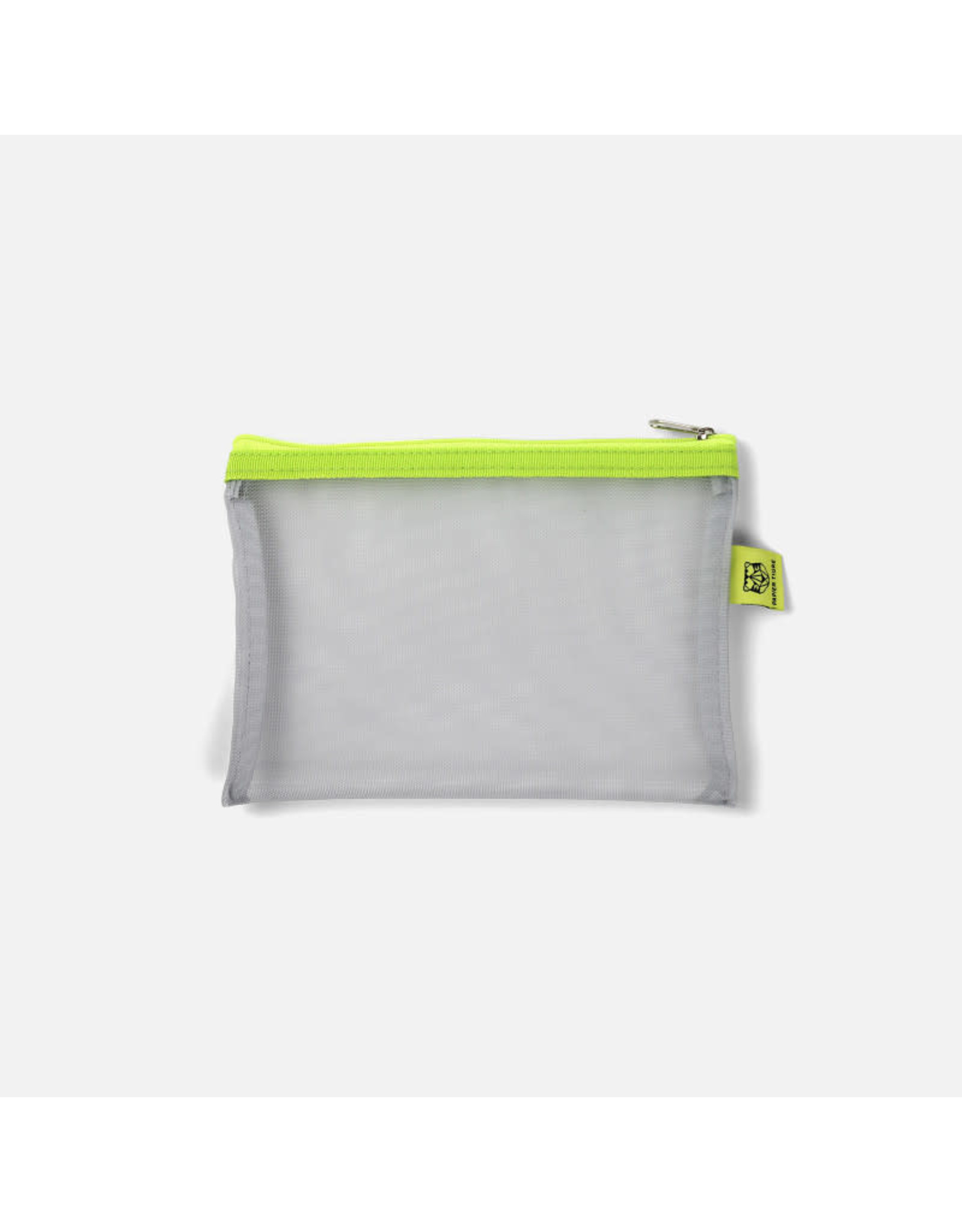 Papier Tigre Silver & Lime Green Small Pouch
