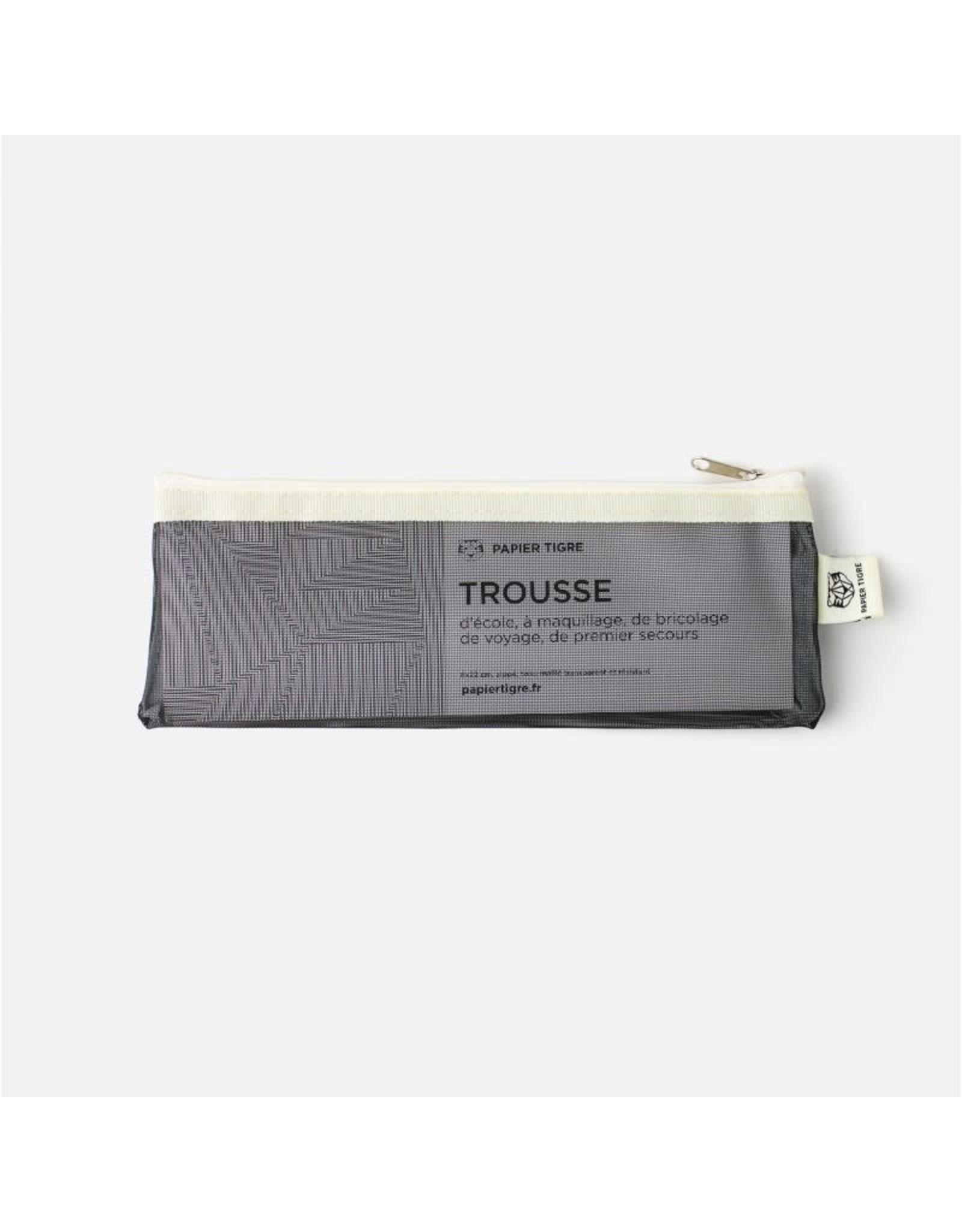 Papier Tigre Black & Cream Pencil Case