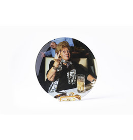 Carol Middle Finger Dinner Plate - Gillian Laub