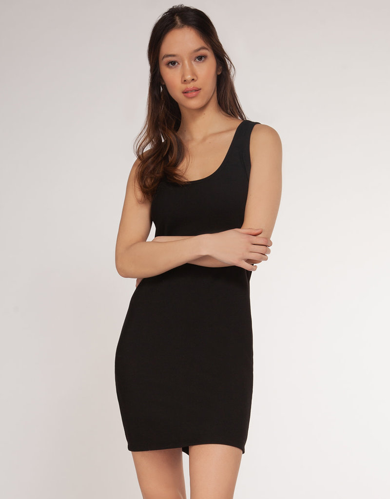 Dex Ribbed Basic Dress