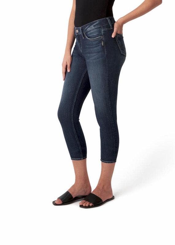 Silver Jeans Co. Elyse Skinny Crop