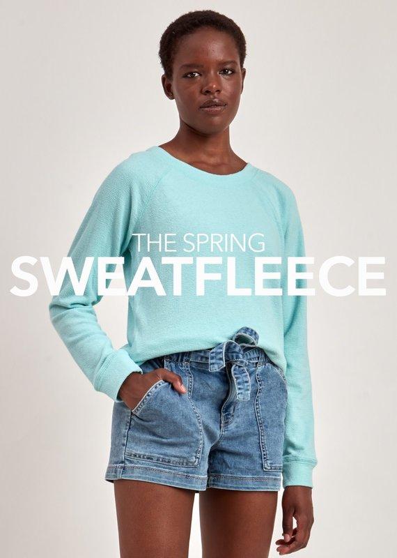 Point Zero Raglan Sleeve Sweatshirt