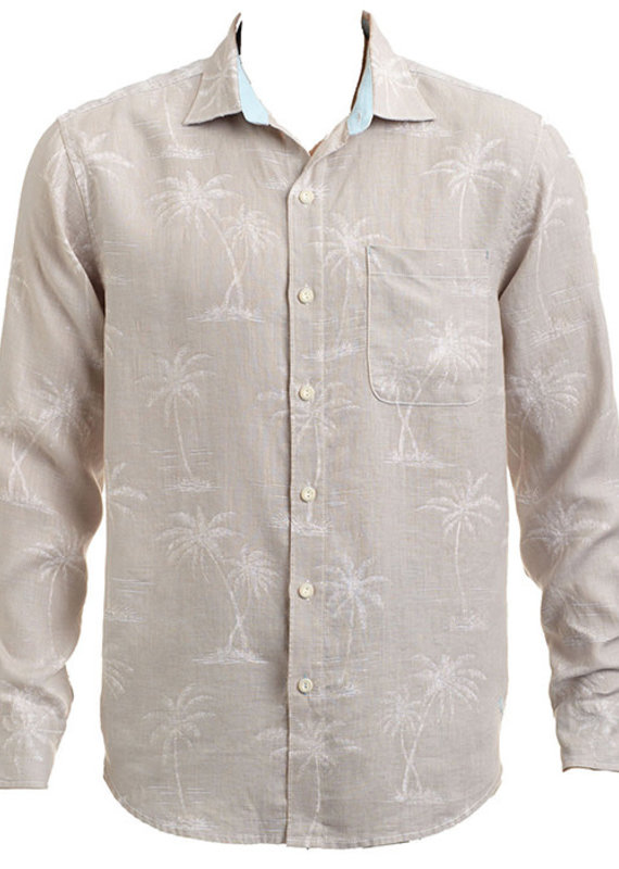 Tommy Bahama Blanco palms linen long sleeve