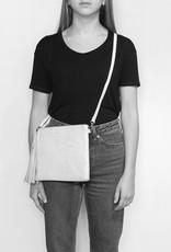 Pixie Mood Michelle Clutch - Black & White Woven