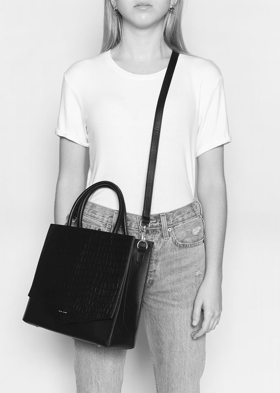 Pixie Mood Caitlin Tote Small - Black