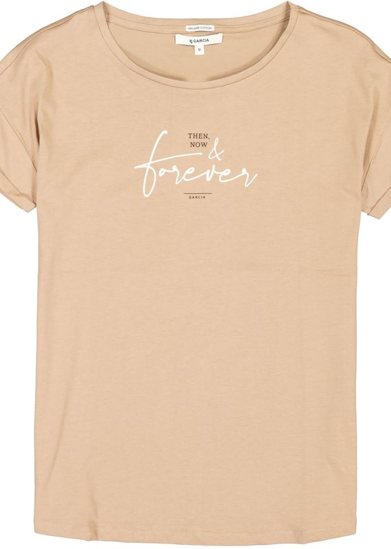 Garcia Ladies Tshirt SS then now forever