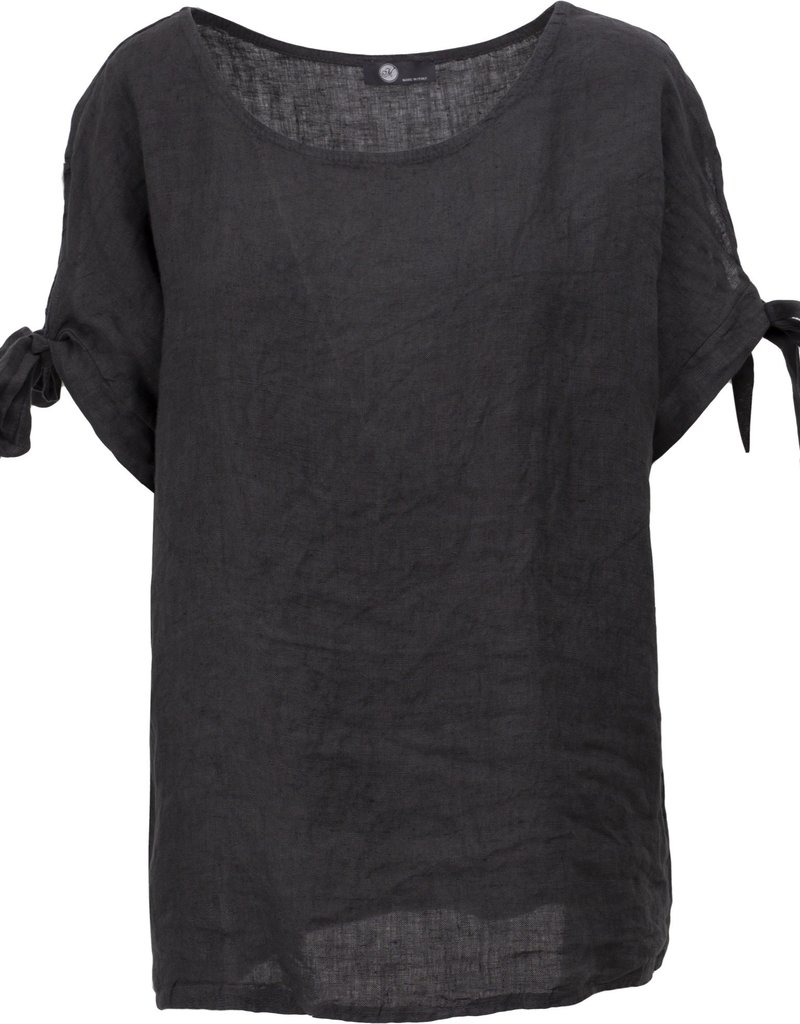 """""""M"""" Made in Italy Short Sleeve Top"""