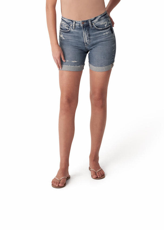 Silver Jeans Co. Sure Thing Long Short