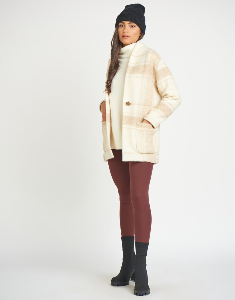 Dex Shawl Collar Cocoon Jacket