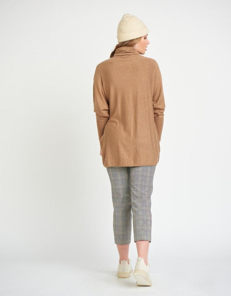 Dex Cropped Plaid Trouser