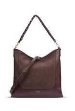 Pixie Mood Millie Shoulder Bag - Chocolate / Nubuck